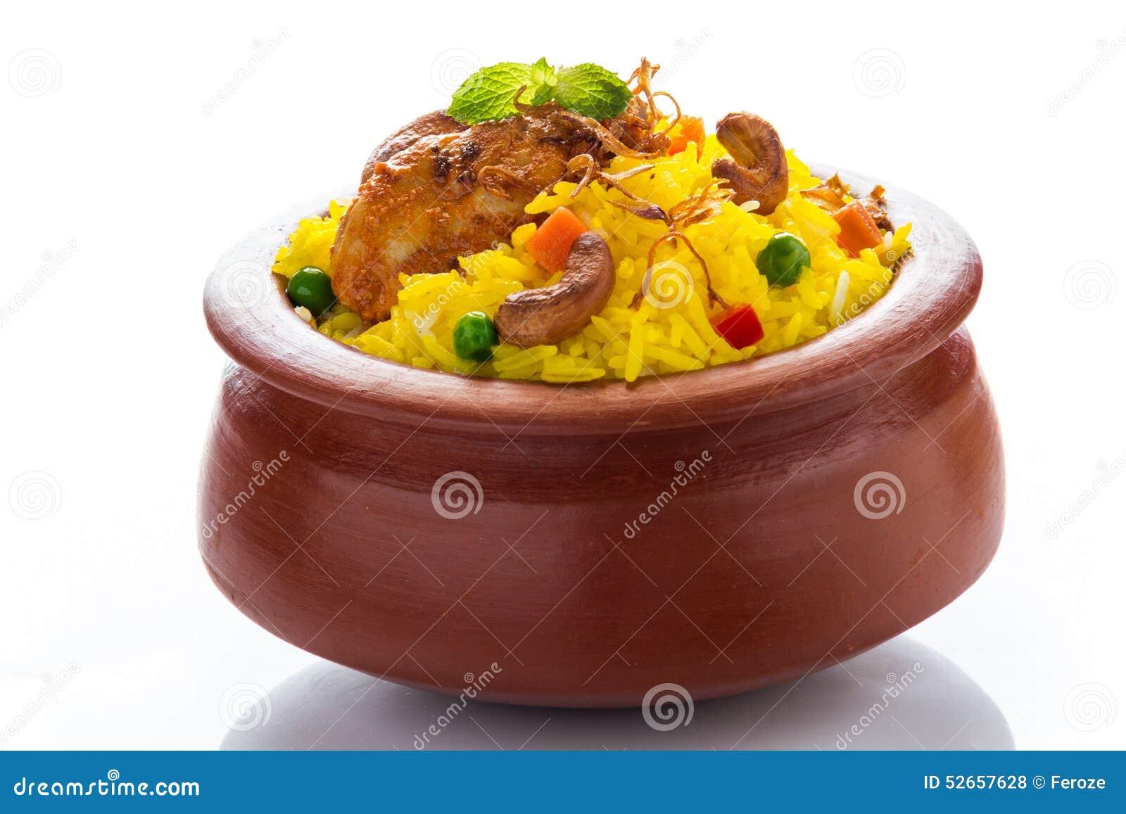 Biryani цыпленка