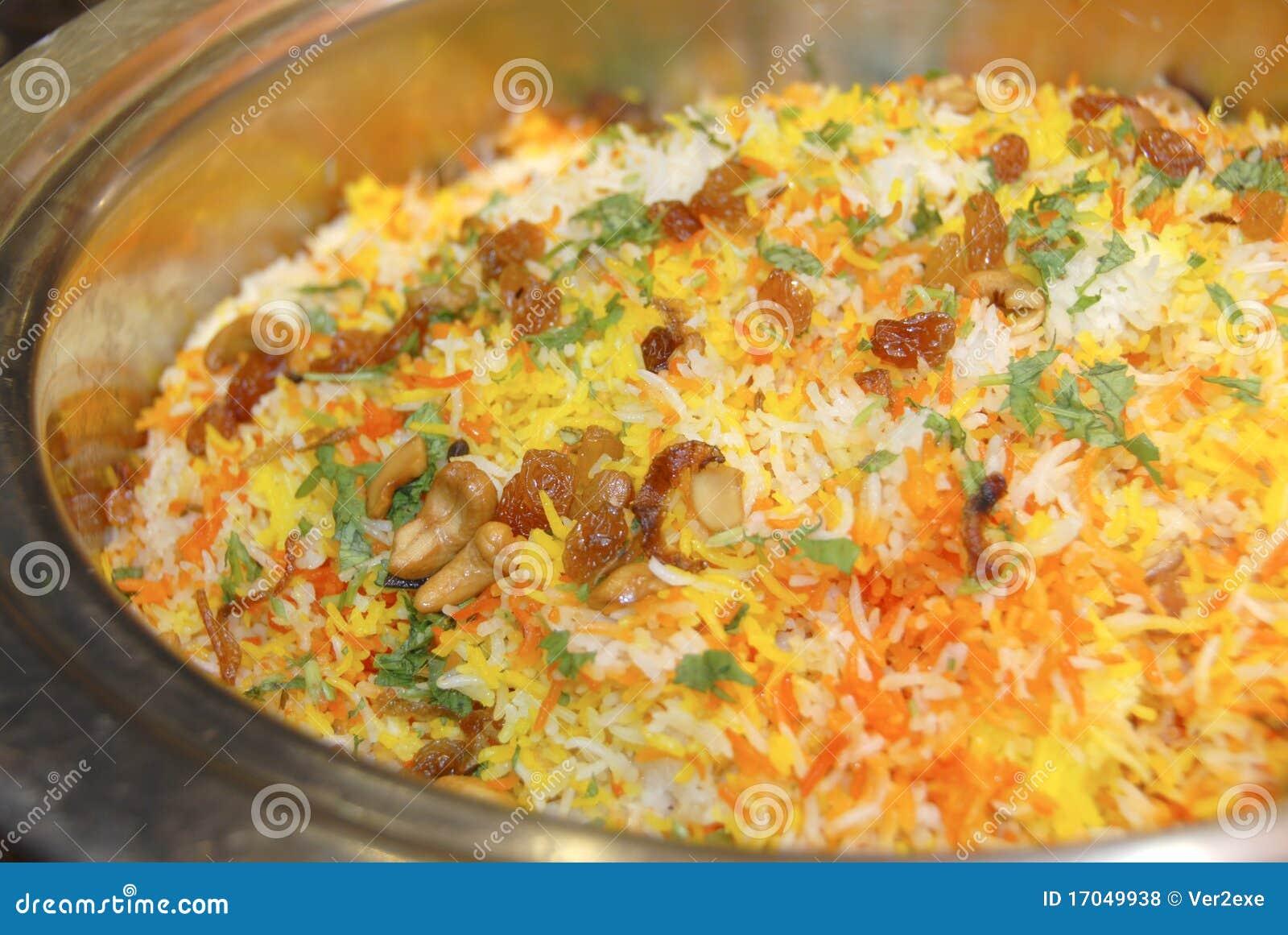 biryani rice royalty free stock photos