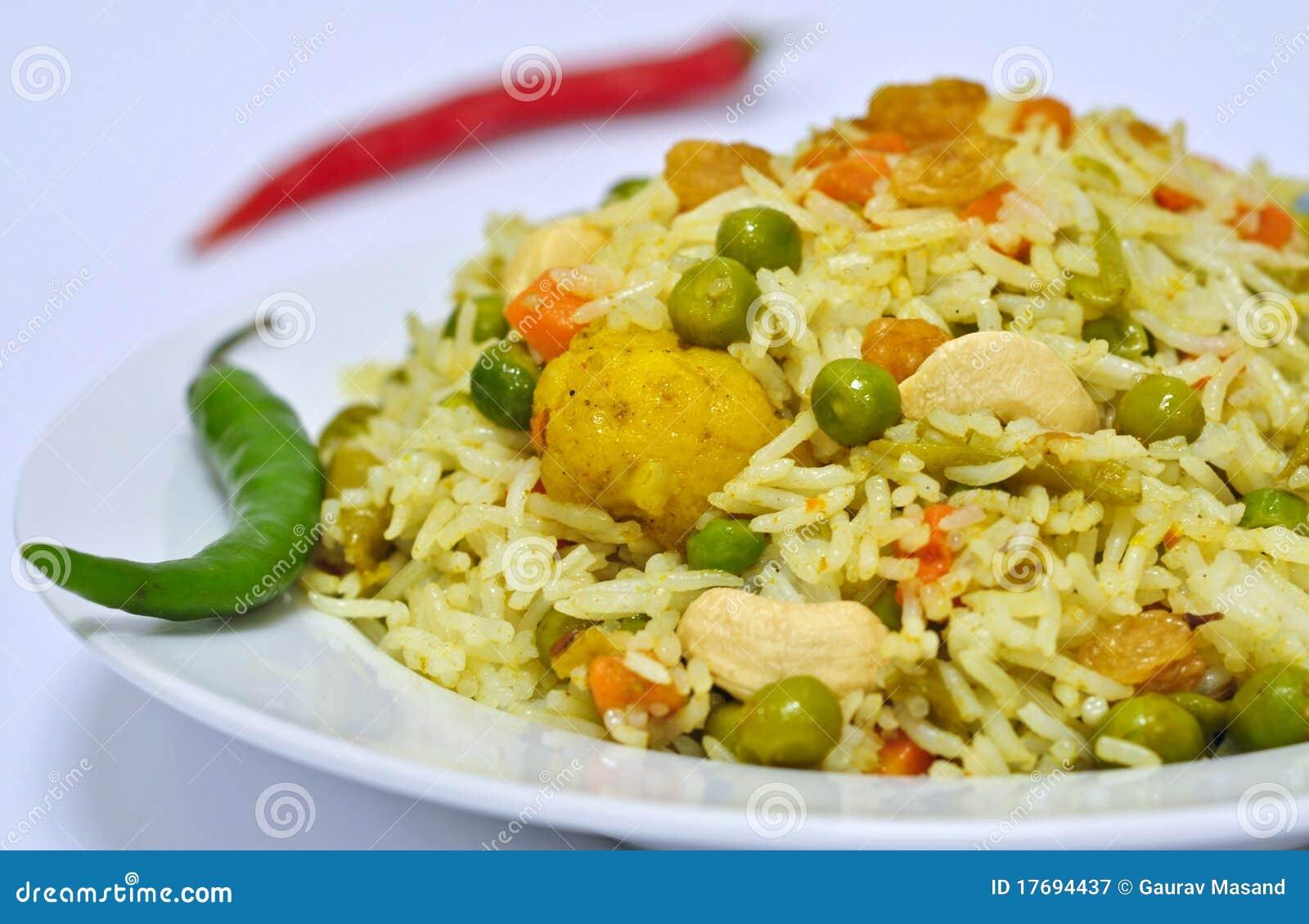 Biryani warzywo