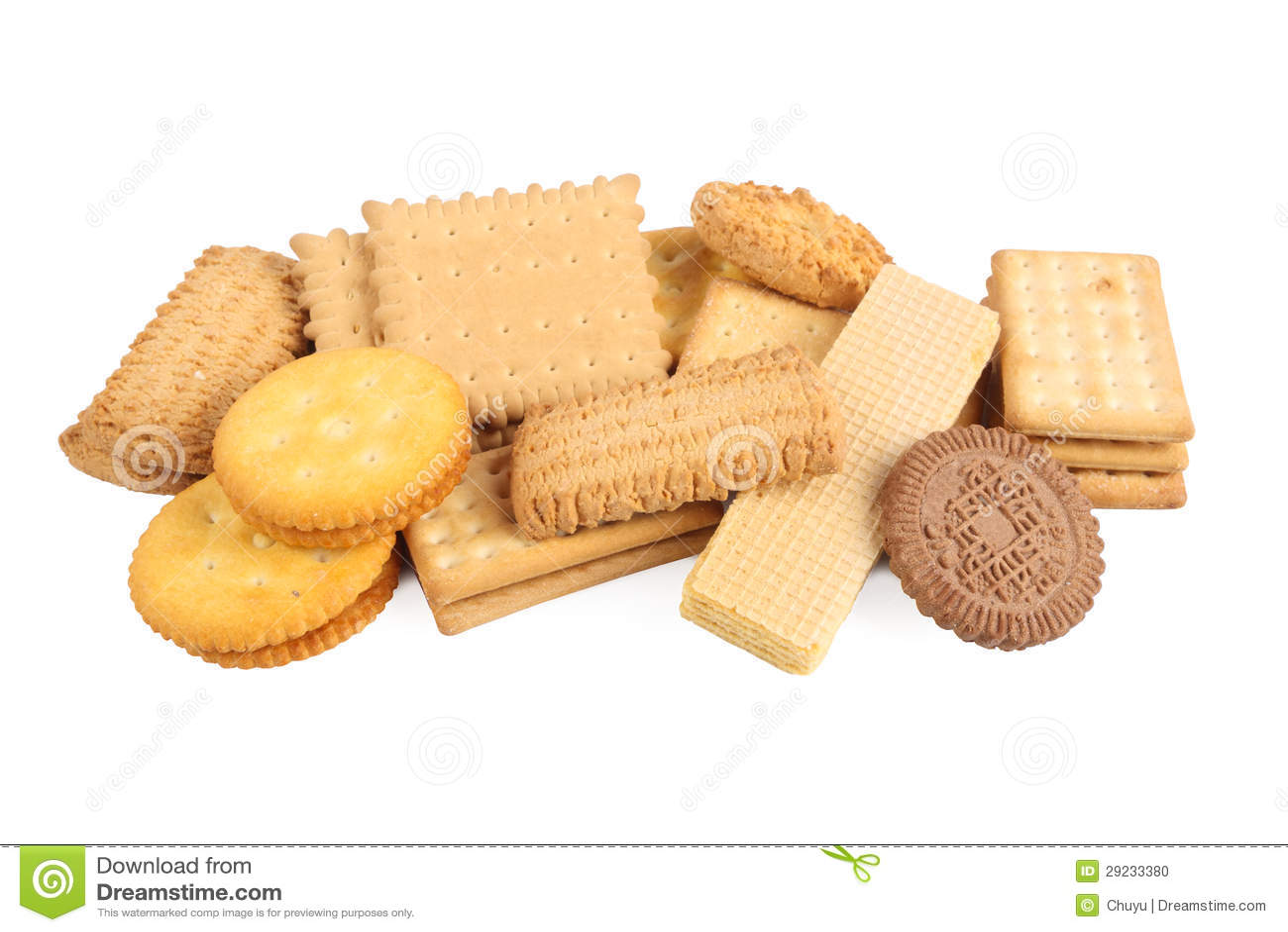 Download Biscoitos Assorted foto de stock. Imagem de dieta, coma - 29233380