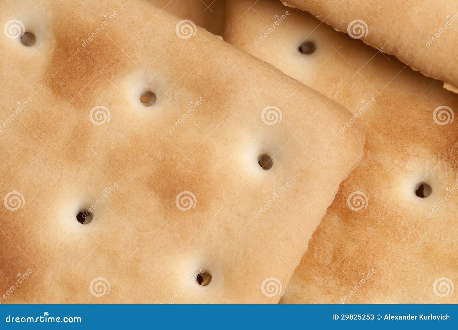 Biscoitos como um fundo