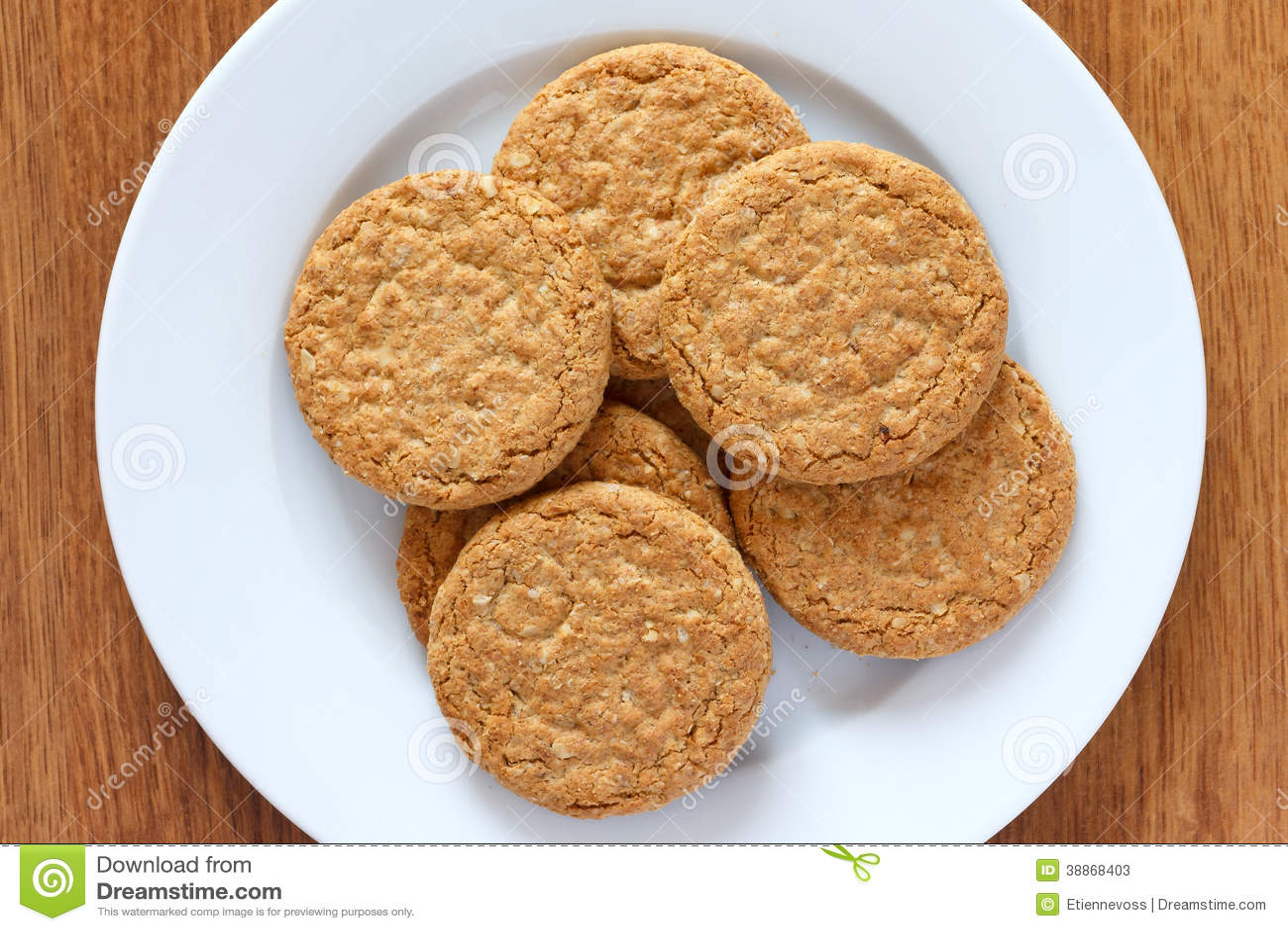 Biscoitos da aveia