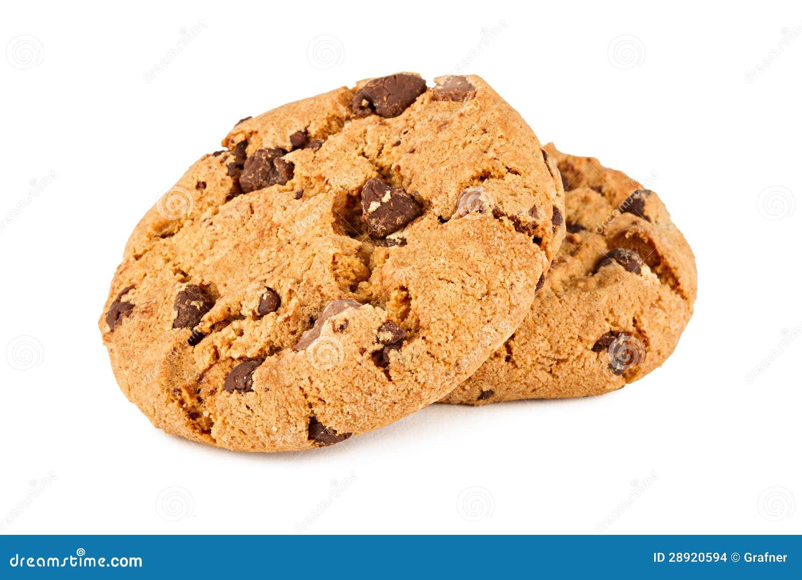 Biscoitos do chocolate