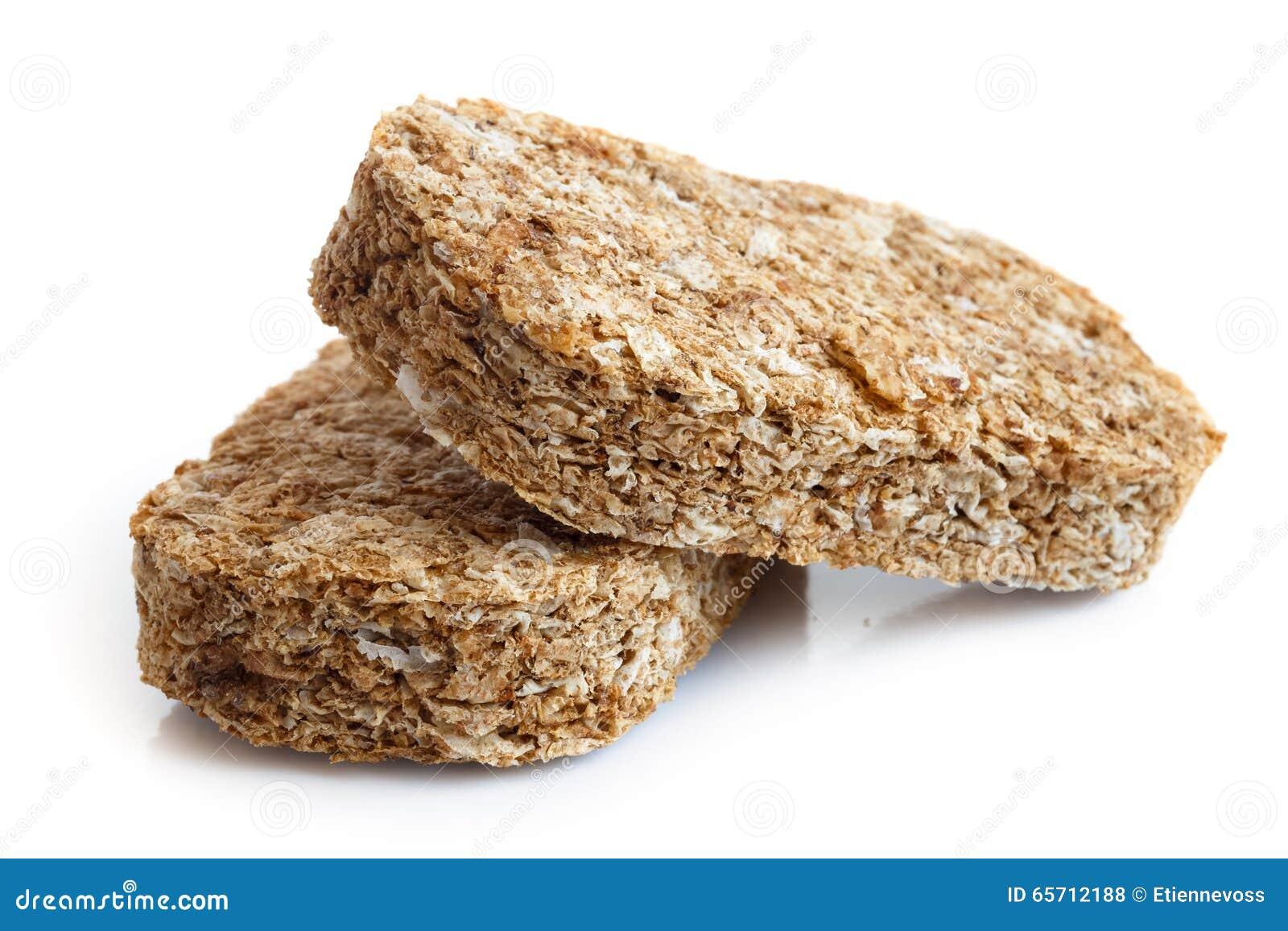 Biscoitos inteiros do café da manhã do trigo