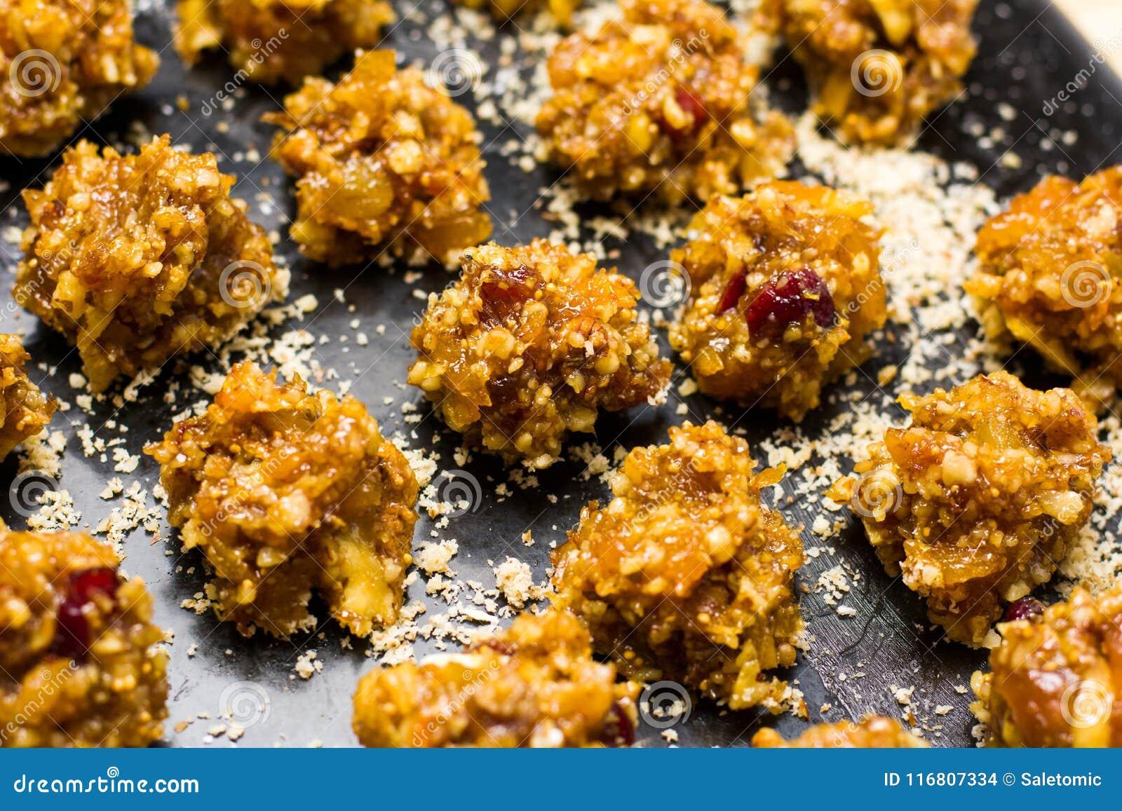 Biscotti casalinghi croccanti del dessert
