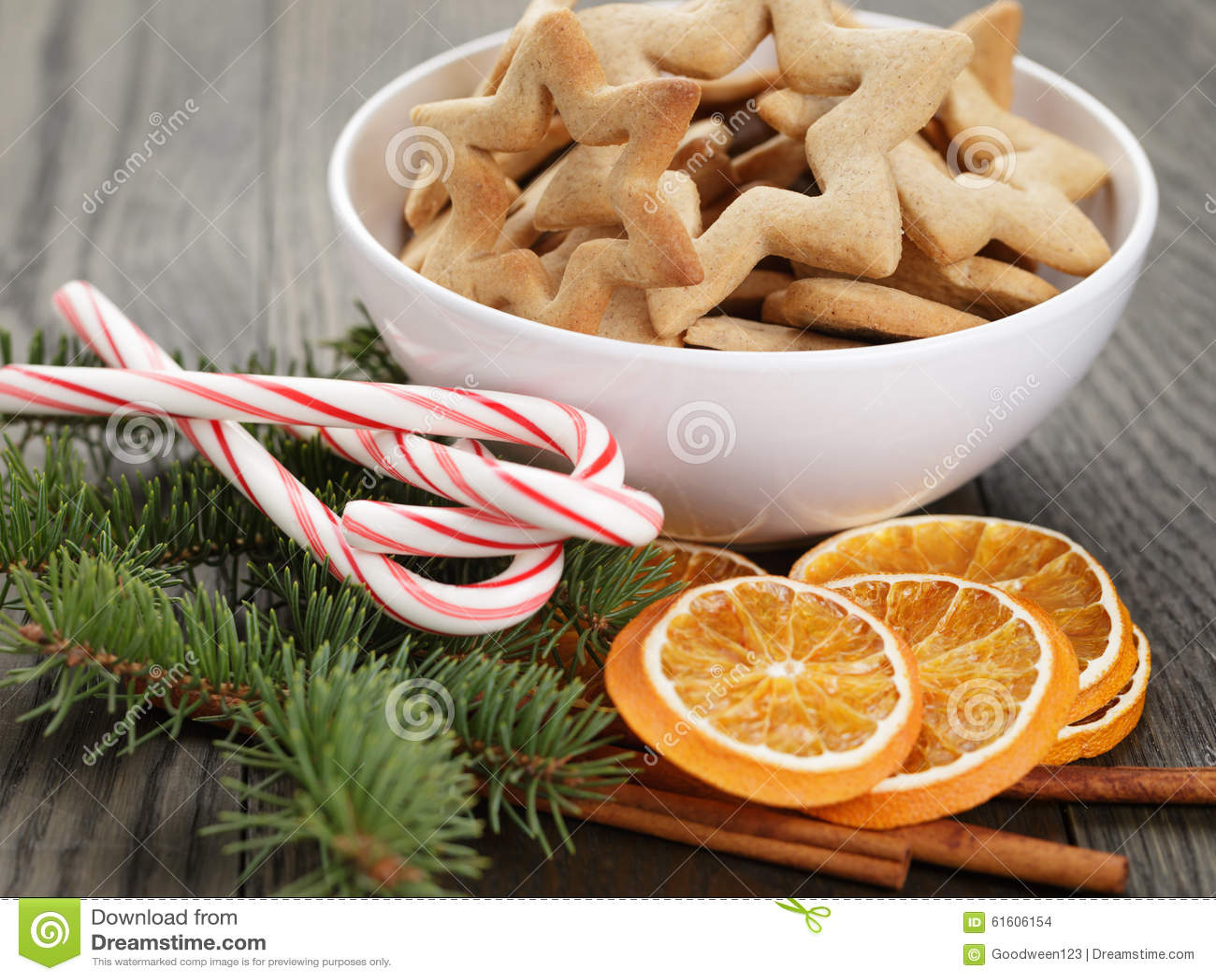 Biscotti Classici Di Natale.Biscotti Classici Della Stella In Ciotola Bianca Con Natale