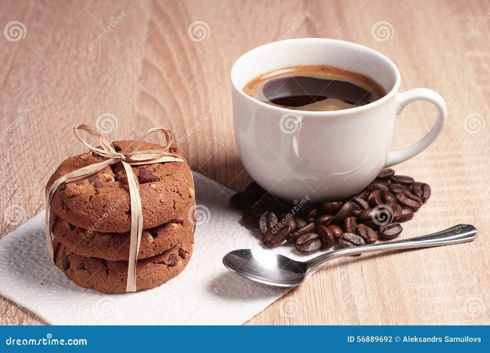 Biscotti del cioccolato e del caffè