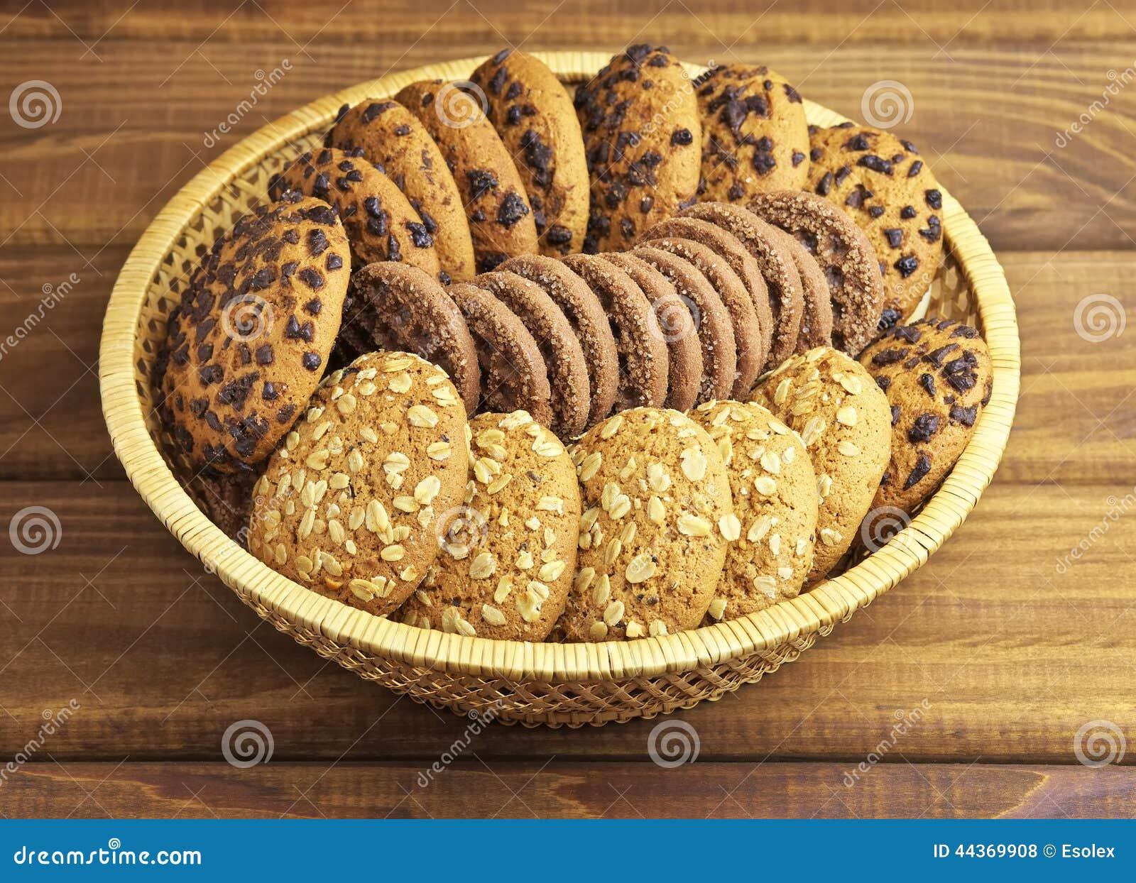 Biscotti del cioccolato e della farina d avena