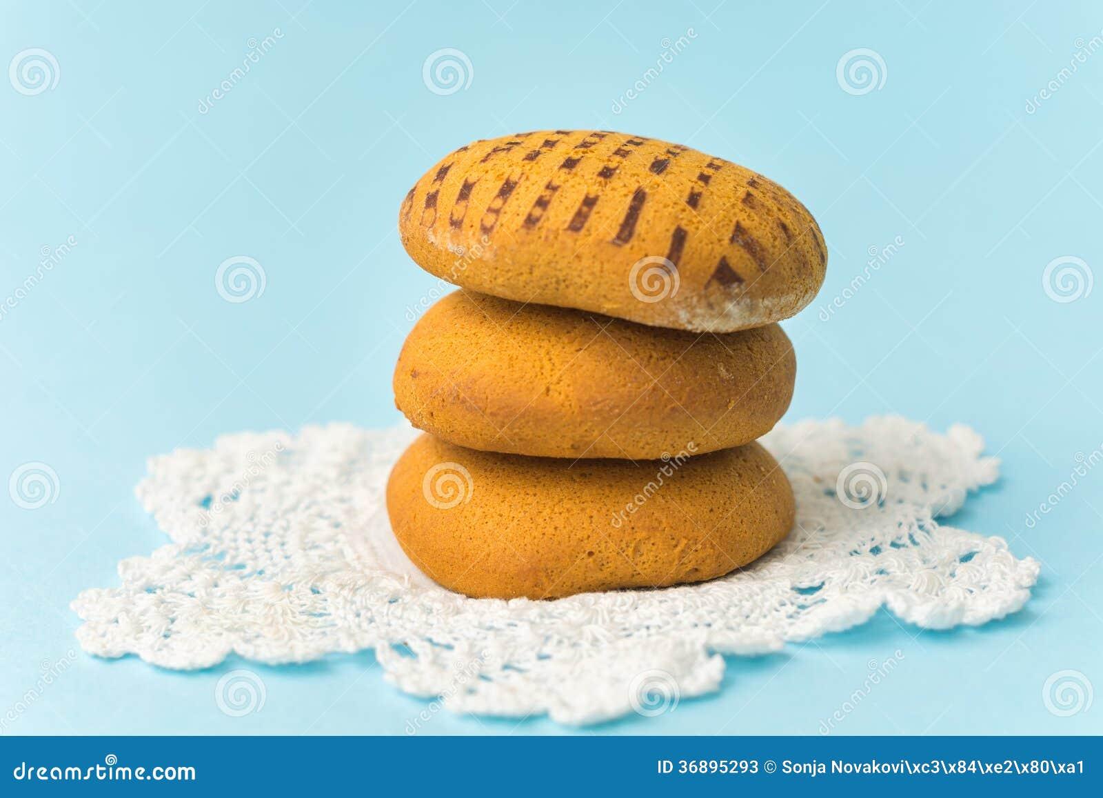 Download Biscotti Del Pan Di Zenzero Immagine Stock - Immagine di brown, cotto: 36895293