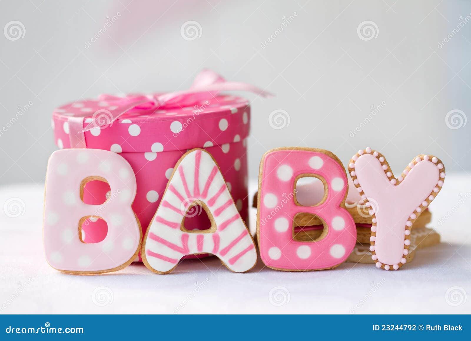 Biscotti dell acquazzone di bambino