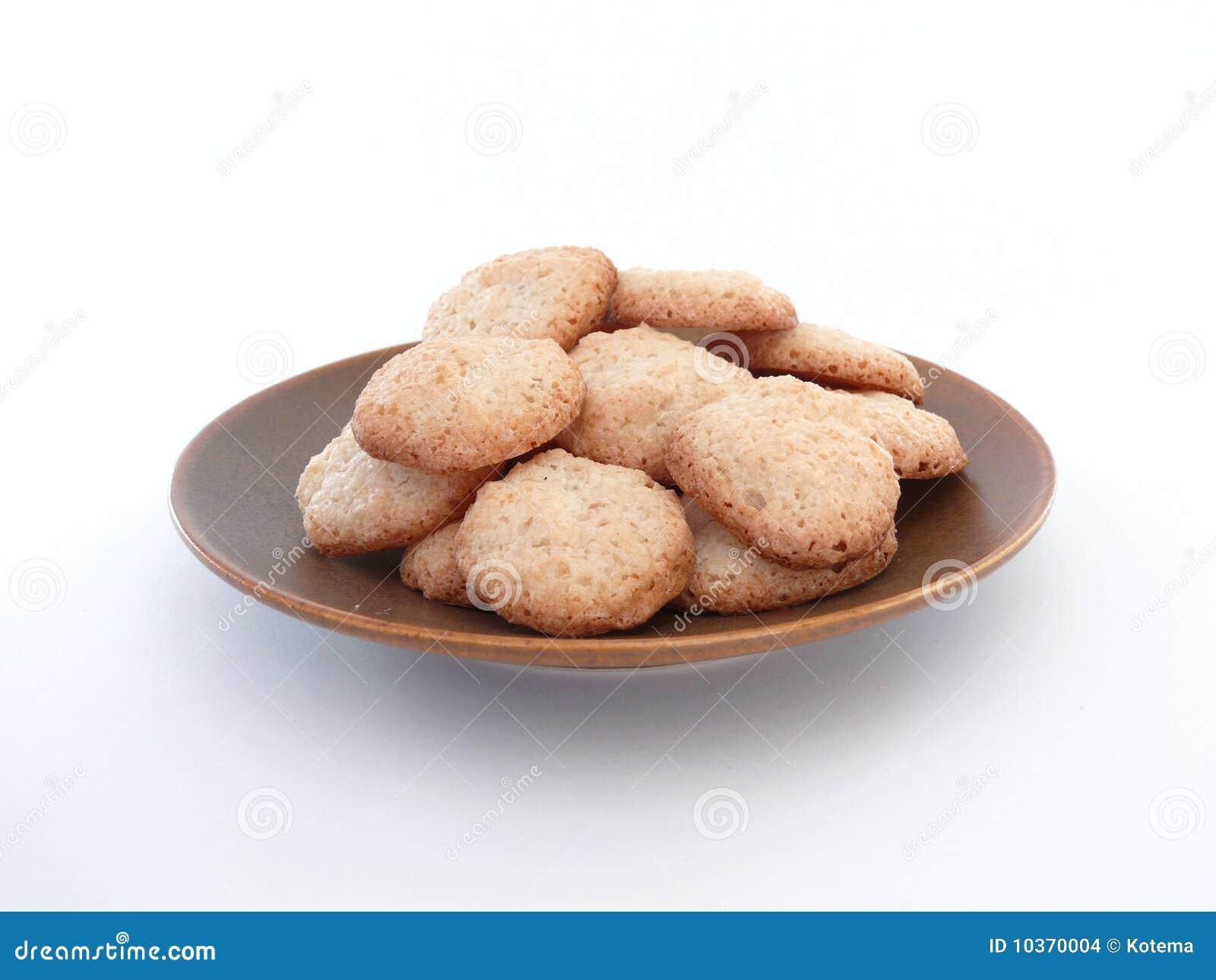 Biscotti della noce di cocco