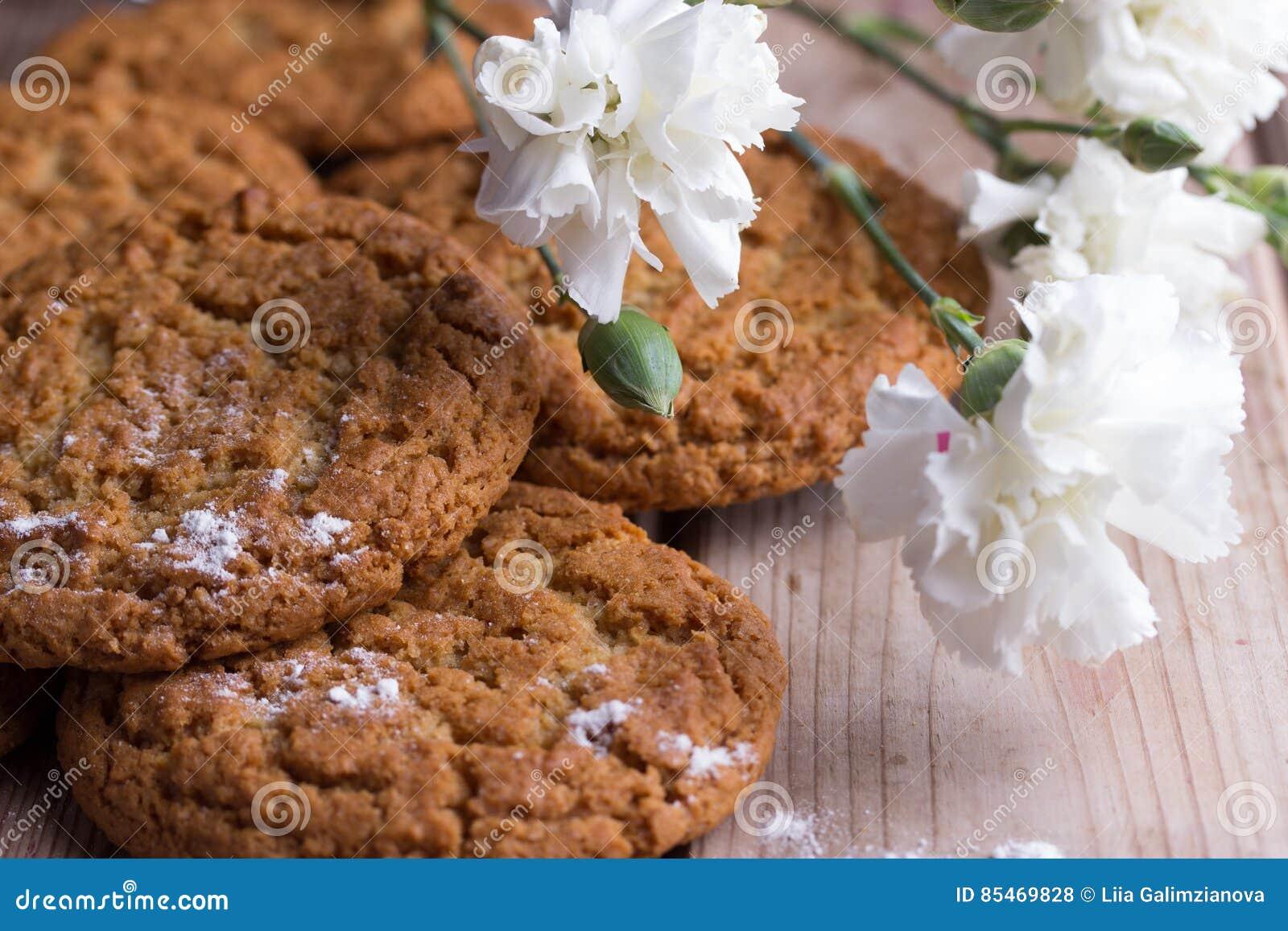 Biscotti di farina d avena casalinghi