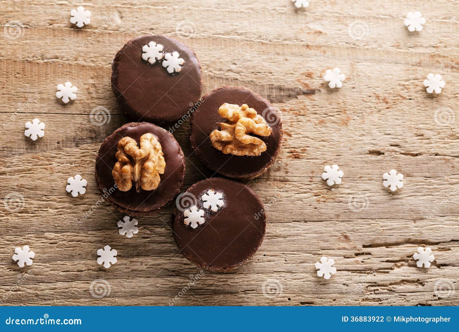 Download Biscotti di Natale fotografia stock. Immagine di confezione - 36883922