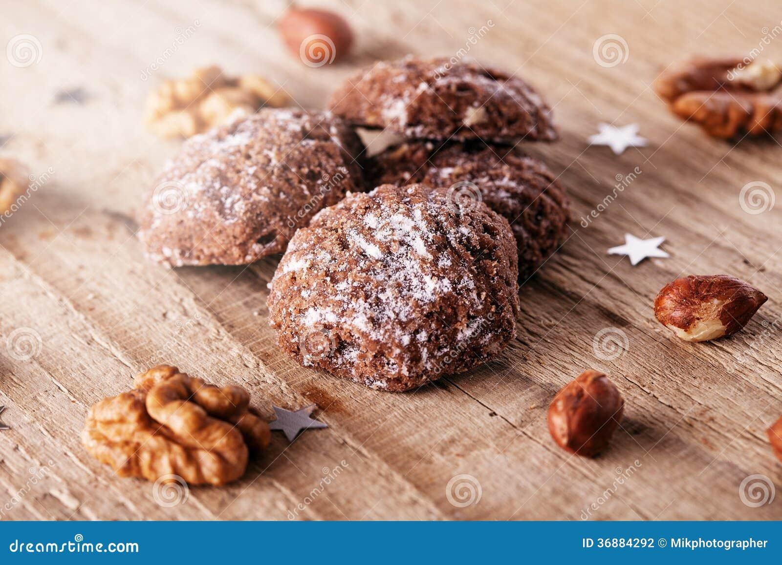 Download Biscotti di Natale fotografia stock. Immagine di closeup - 36884292
