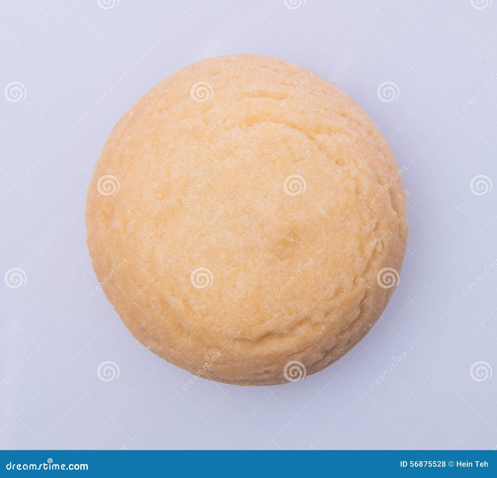 Biscotti o biscotti di burro su un fondo