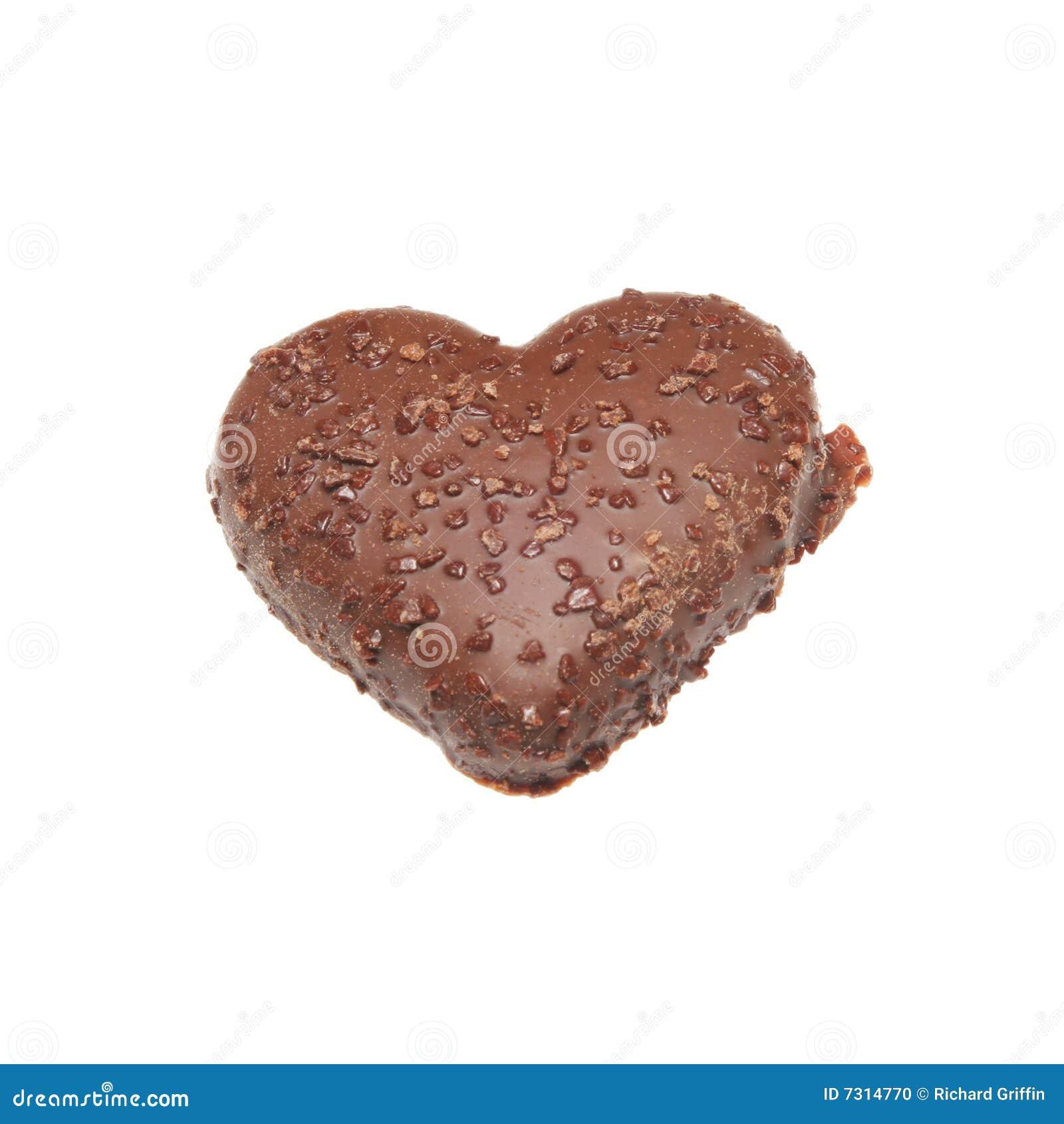 Biscotto a forma di del cuore