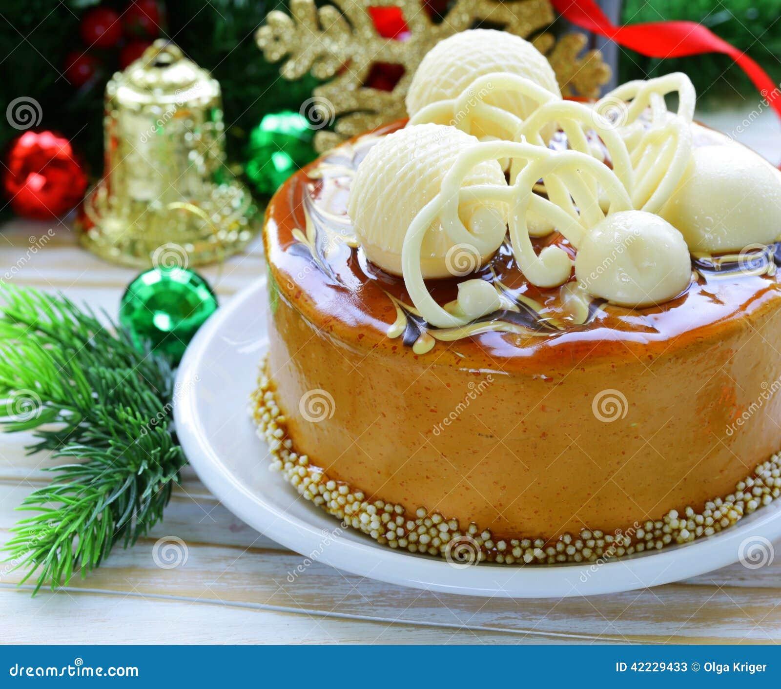 gateau de fete de noel Biscuit De Fête De Caramel De Gâteau De Noël Image stock   Image  gateau de fete de noel