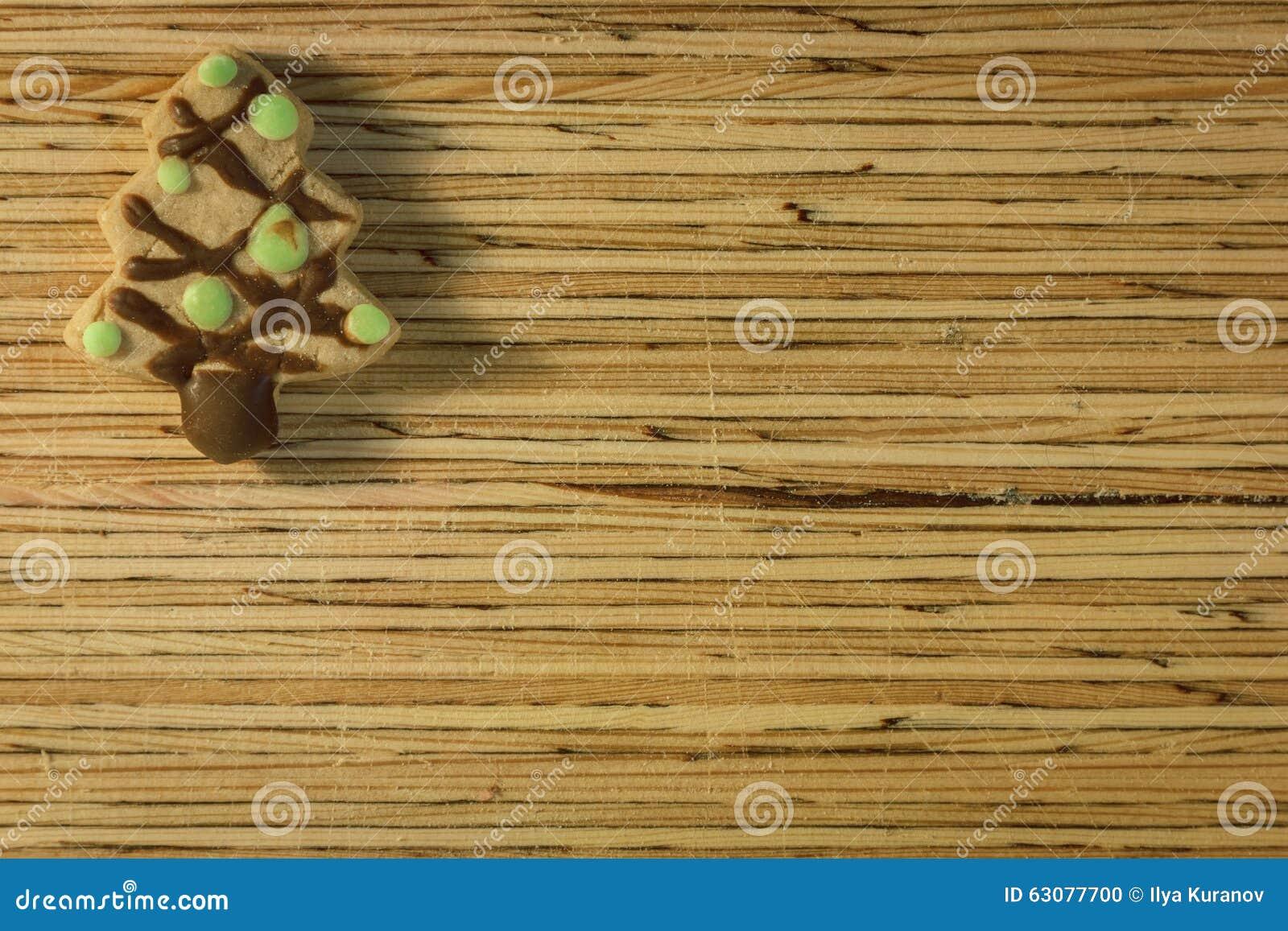 Download Biscuit De Noël Sur Le Fond En Bois Photo stock - Image du traditionnel, vacances: 63077700