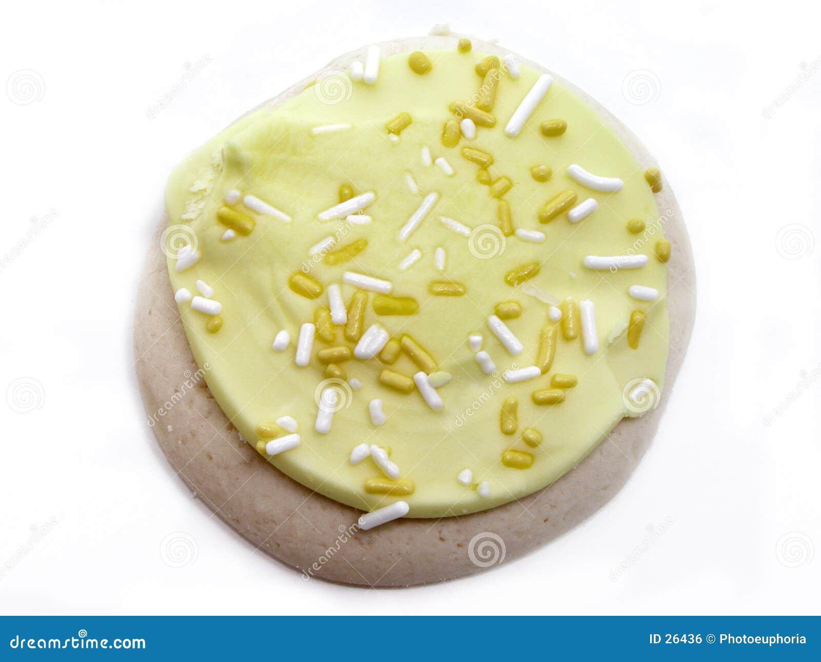 Biscuit de sucre de citron