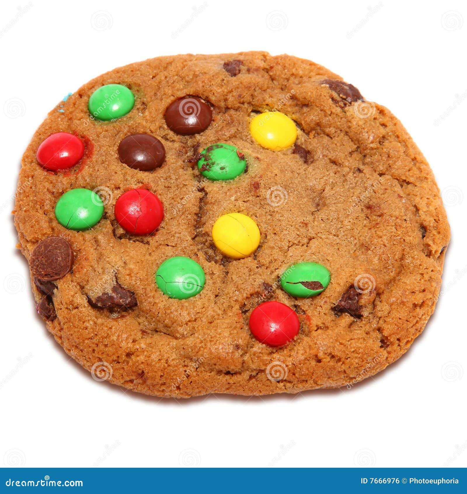 Biscuit de sucrerie de puce de chocolat