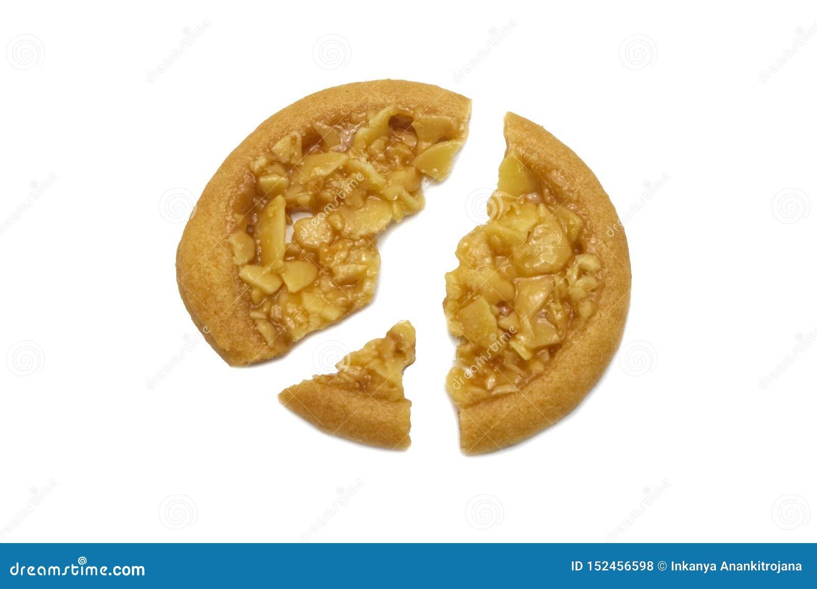 Biscuits aromatisés au goût âpre et tellement doux d amande