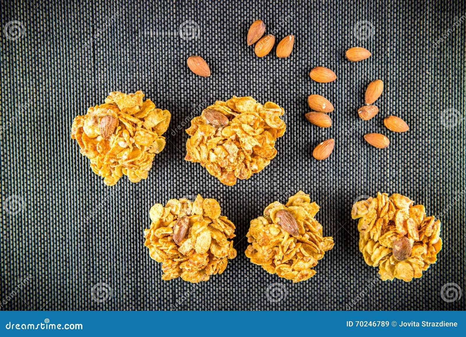 Biscuits avec des amandes