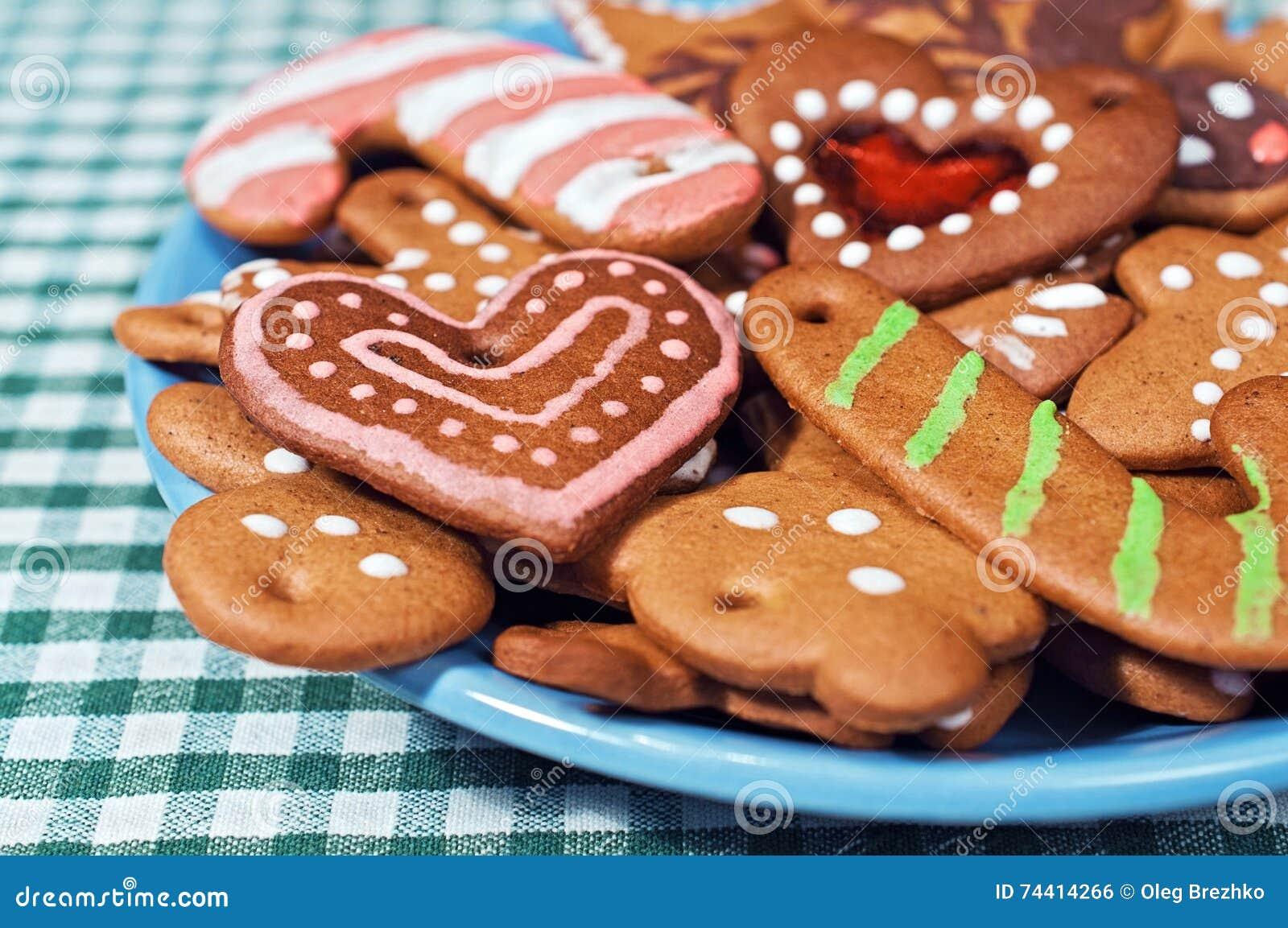 Biscuits caoutchouteux de pain d épice