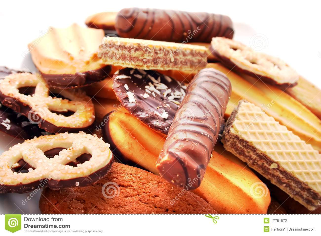 Biscuits Cookies Cakes Stock Photography Image 17751572