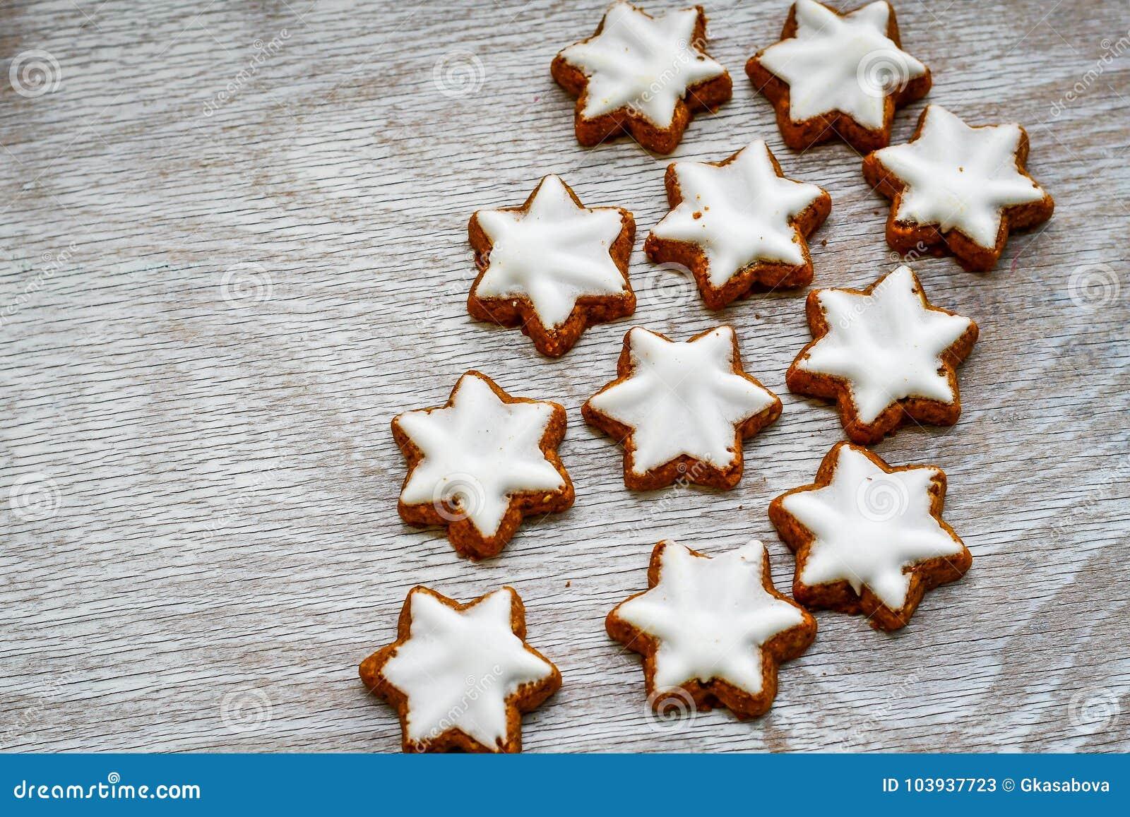 Biscuits d étoile de Noël