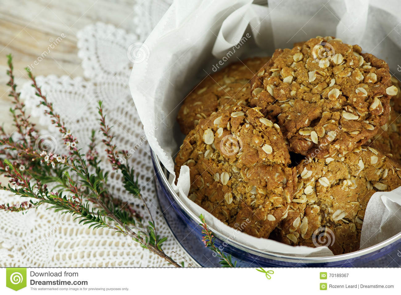Biscuits d Anzac