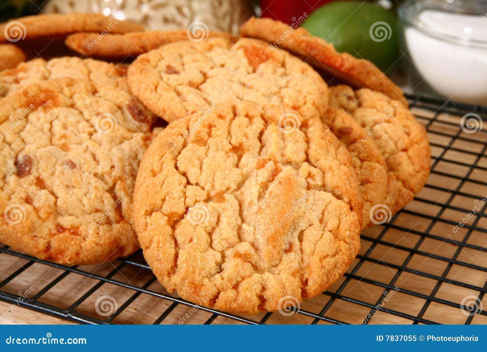 Biscuits de beurre cassants de puce de sucrerie