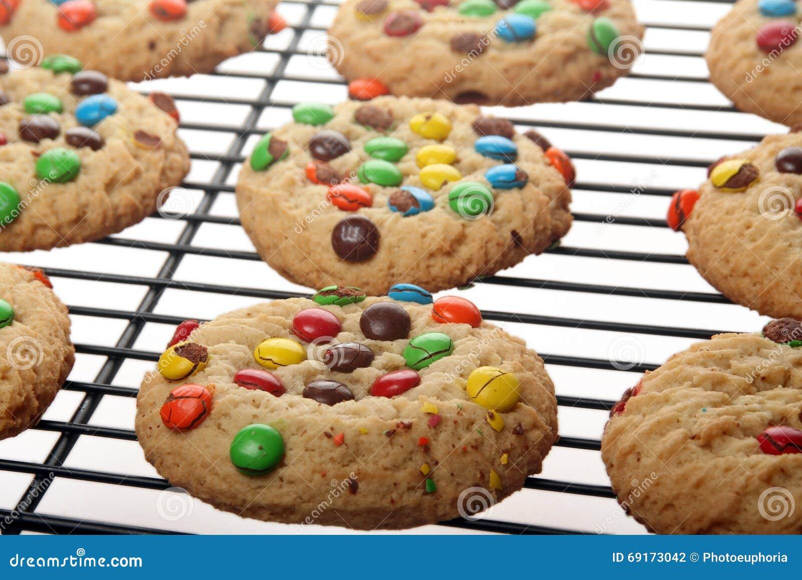 Biscuits de bonbons au chocolat