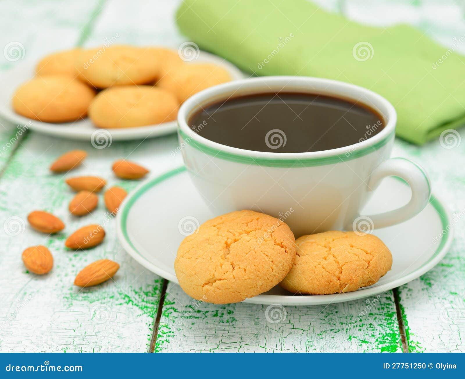 Biscuits de café et d amande