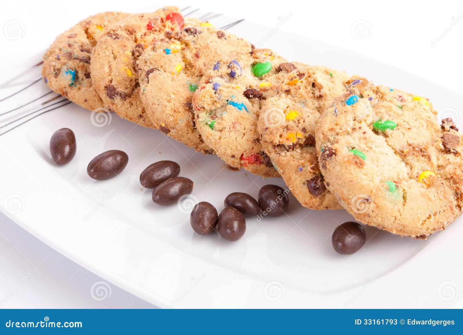 Biscuits de Coolerd avec du chocolat
