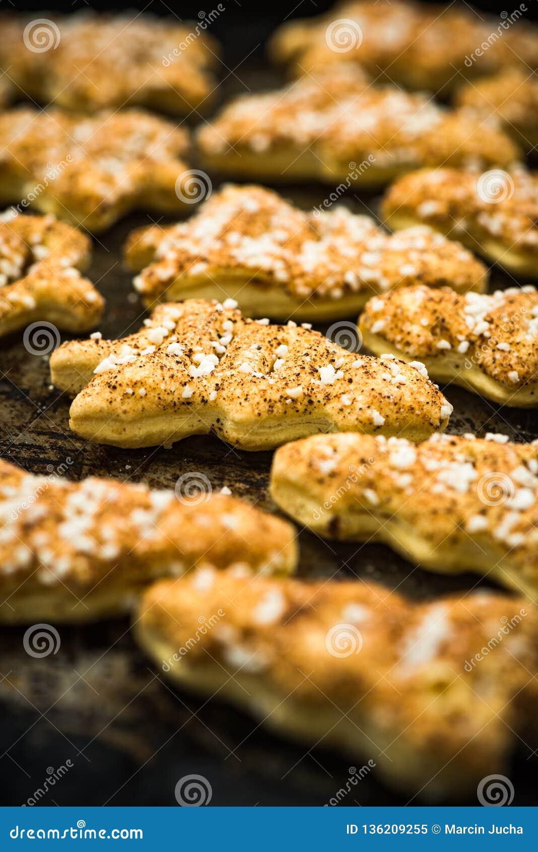 Biscuits de fête faits maison frais d Owen