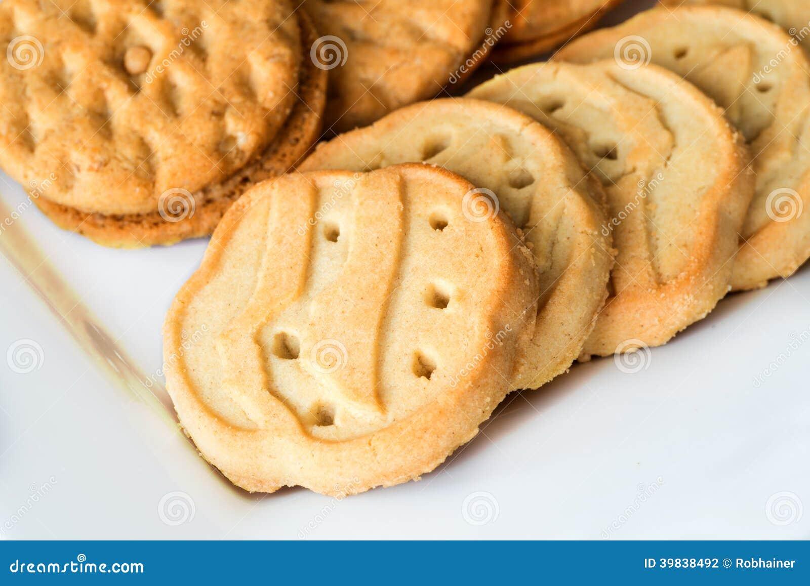 Biscuits de fille scout