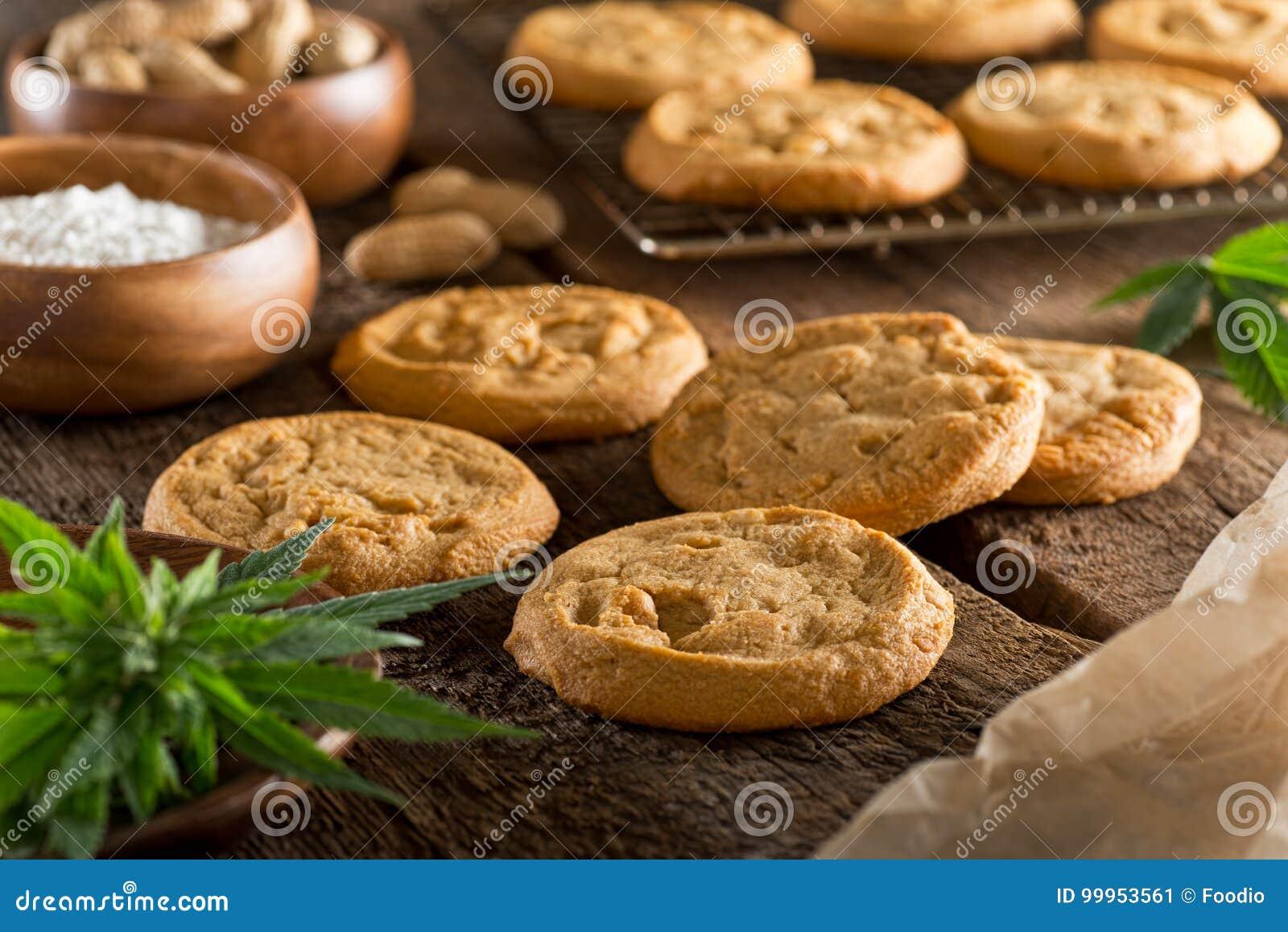 Biscuits de marijuana