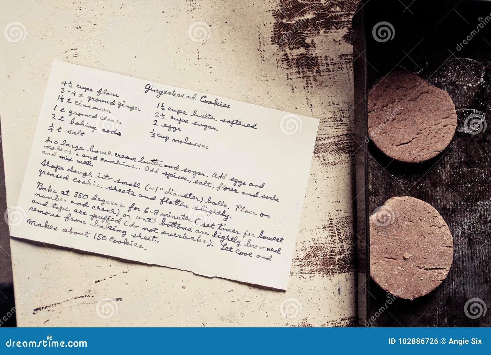 Biscuits de pain d épice