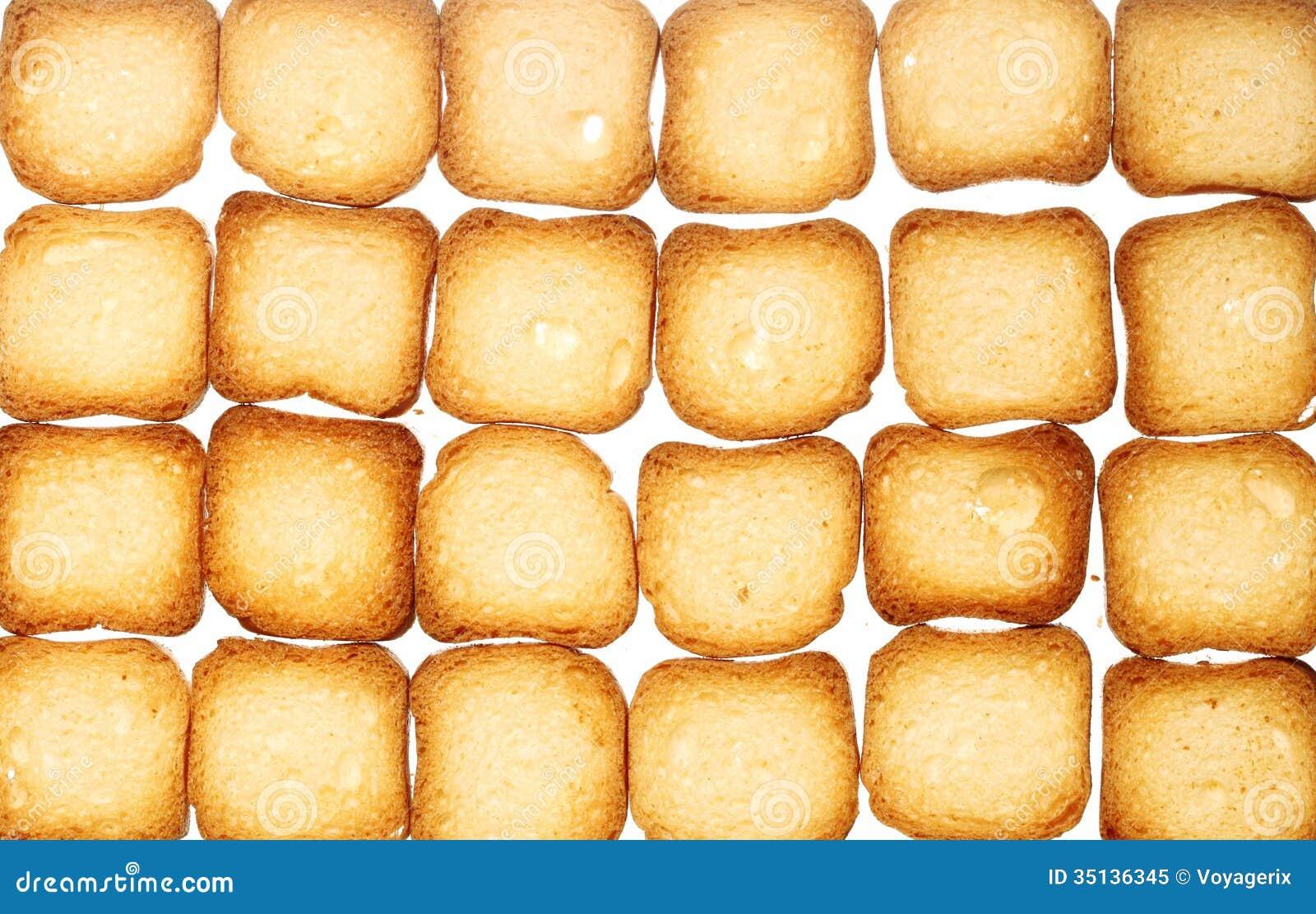 biscuits de pain grill de pain de biscottes fond de nourriture de r gime photo libre de droits. Black Bedroom Furniture Sets. Home Design Ideas