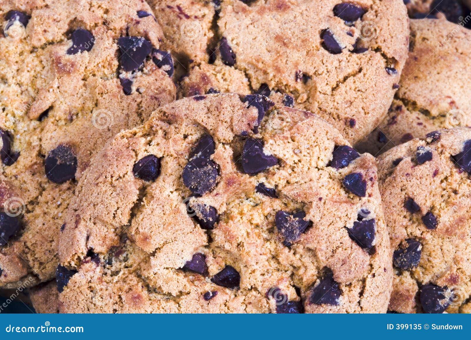 Biscuits de puce de chocolat 2
