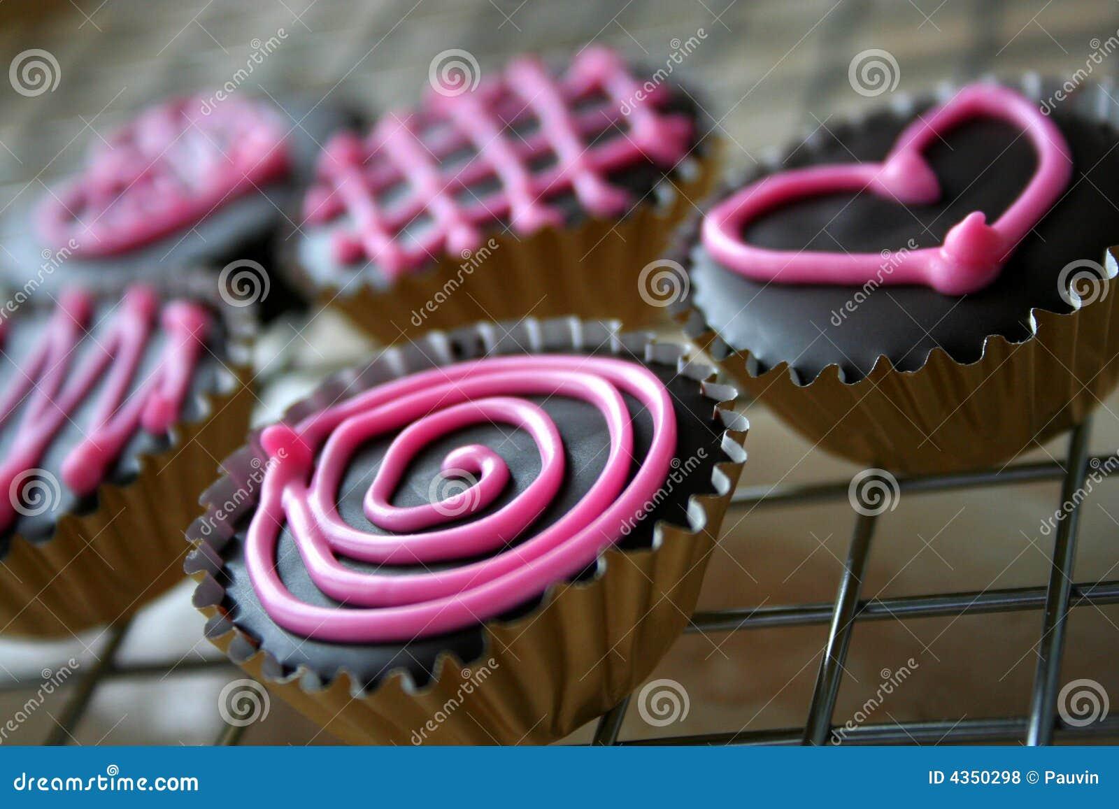 Biscuits du chocolat de Valentine