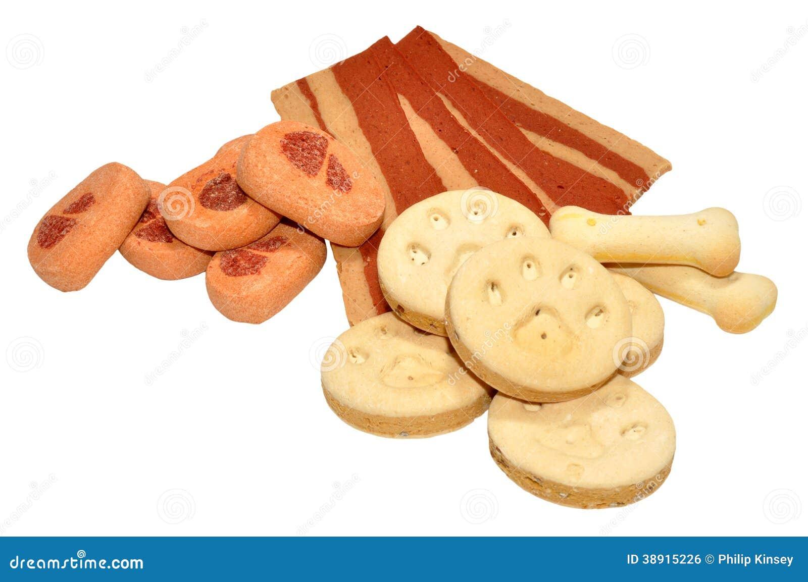 Biscuits et festins de chien