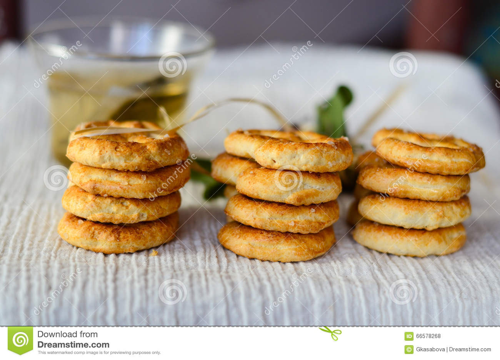 Biscuits et thé