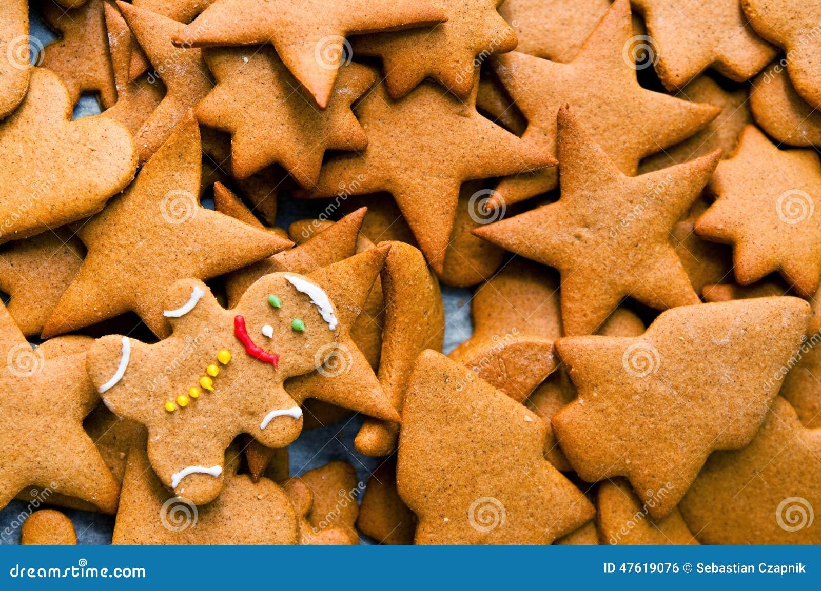 Biscuits faits maison de Noël de pain d épice