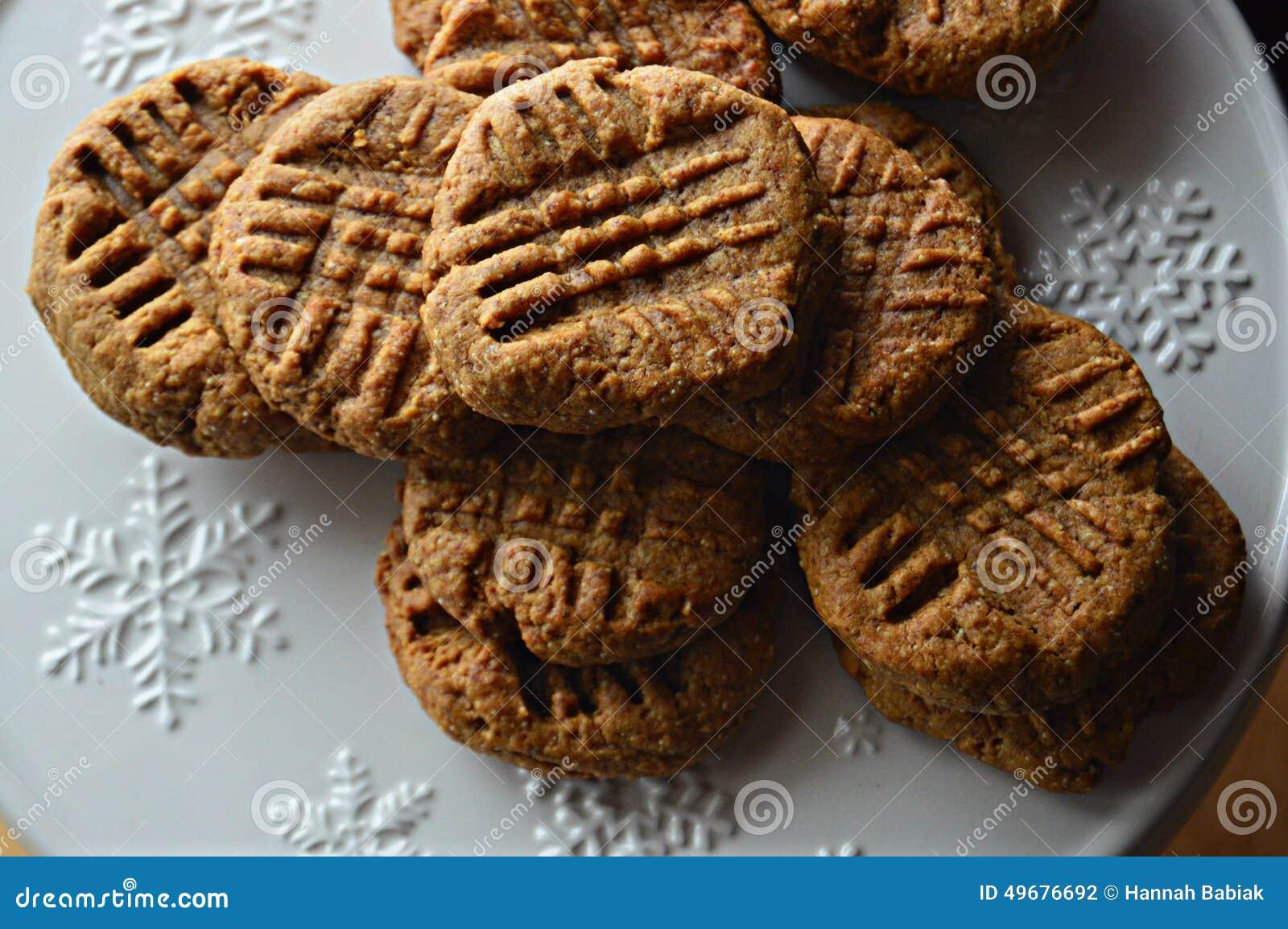 Biscuits gratuits de beurre d arachide de gluten