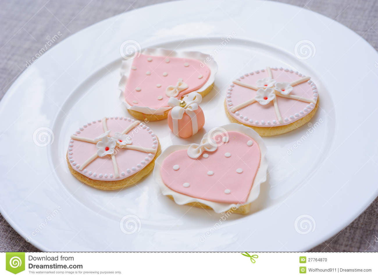 Biscuits roses