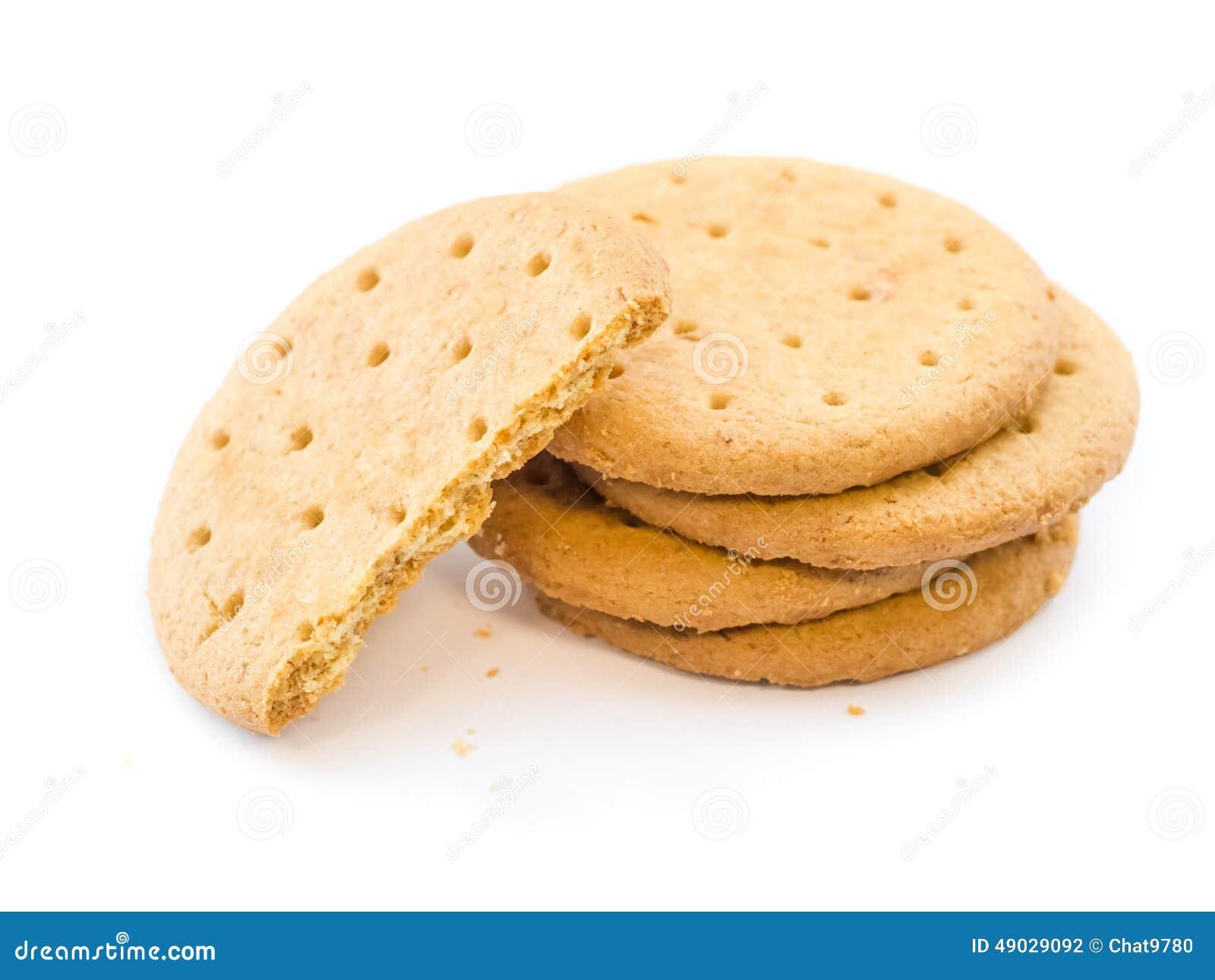 Round Crunchy Diet Food Plain