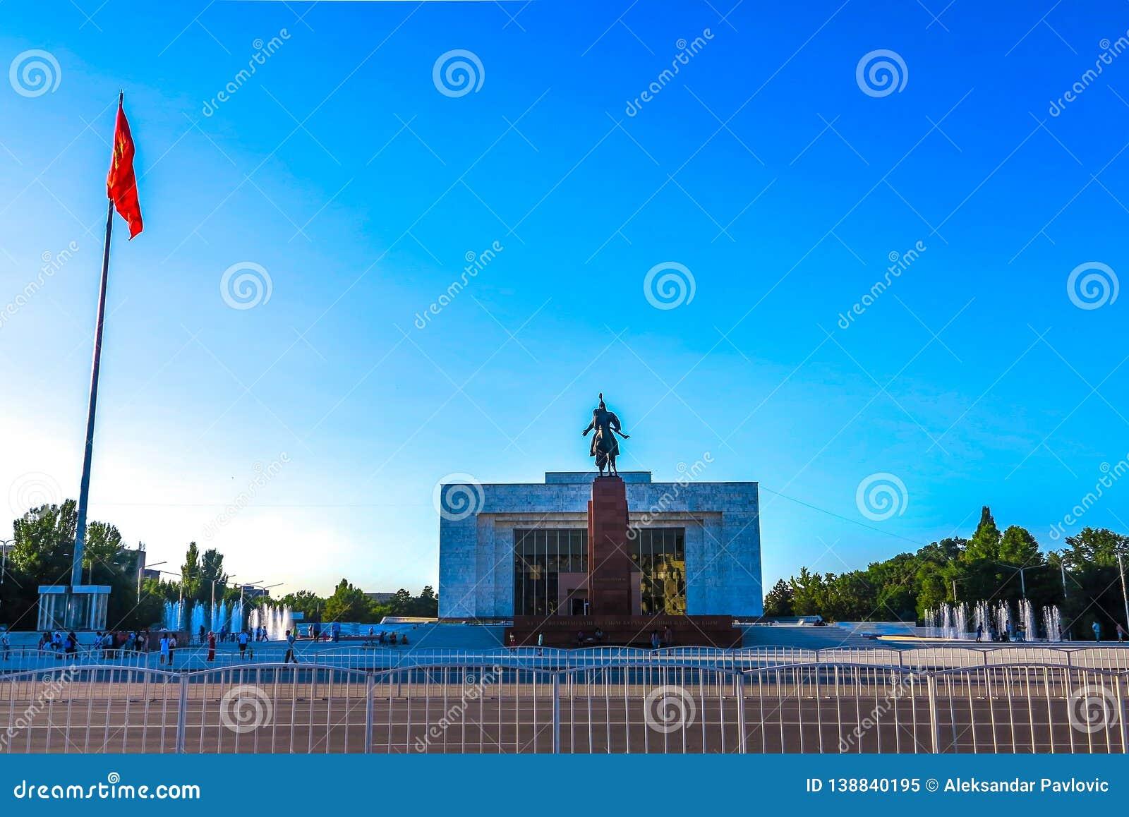 Bishkek Ala Too Square 05