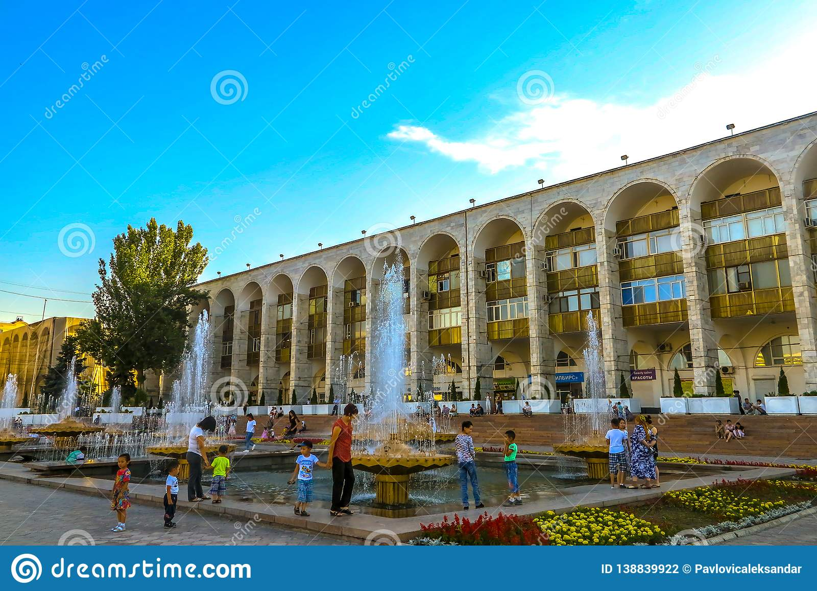 Bishkek Ala Too Square 02