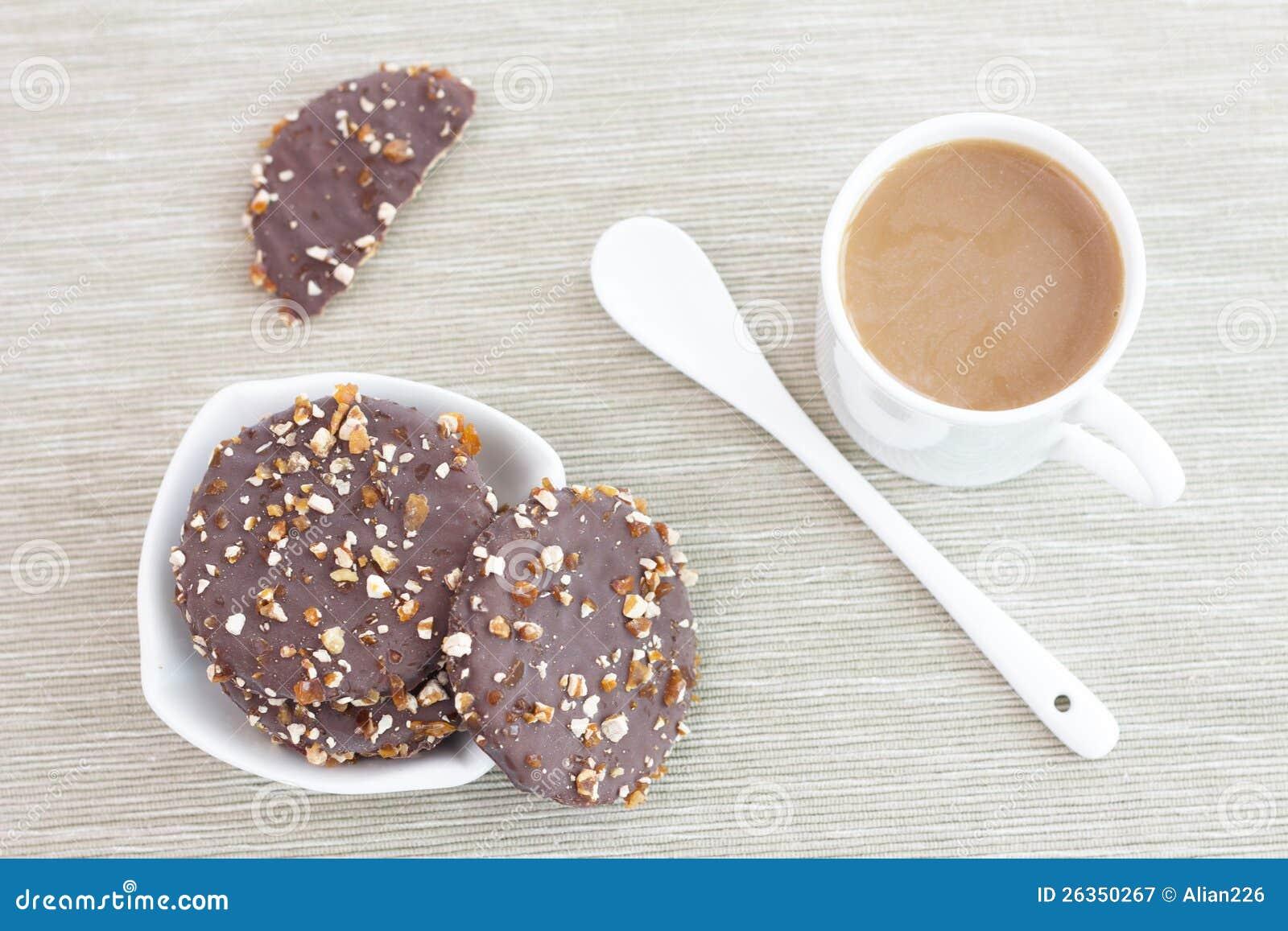 Biskuite und Kaffee